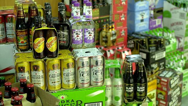 City has 980 booze outlets