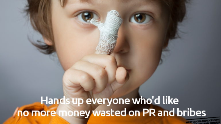 Giving back: public good or good public relations?